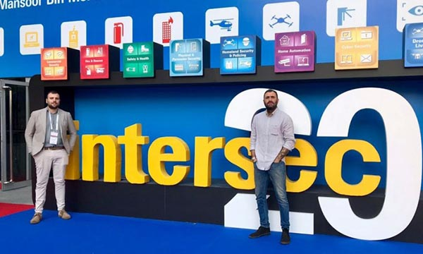 Pim antincendio presente all'Intersec Dubai 2018