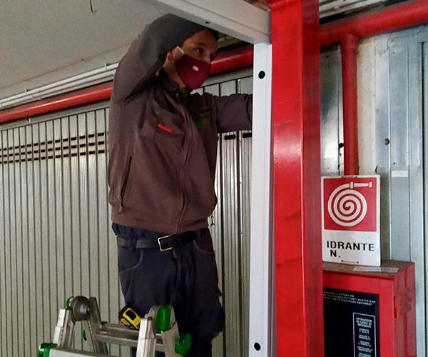 manutenzione porte tagliafuoco