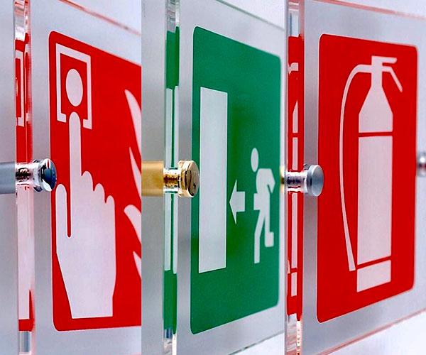 segnaletica di sicurezza negli ambienti di lavoro