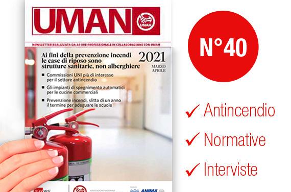 UMAN24 n.40 – Ai fini della prevenzione incendi le case di riposo sono strutture sanitarie, non alberghiere
